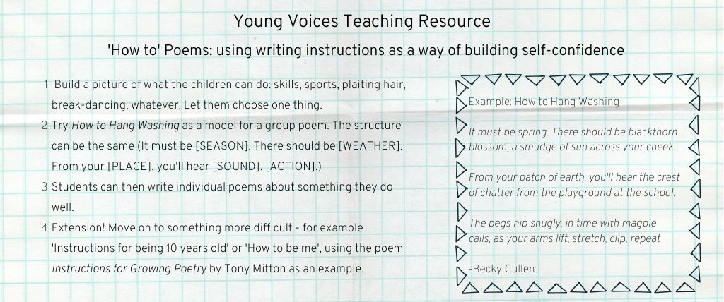 Young Voices Teaching Resource 1 1