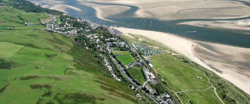 Aerial Shot Of Town Of Aberdovey Dyfi Unesco Biopshere Reserve  Credit  Patrick Laverty