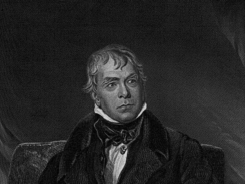 Sir Walter Scott Portrait