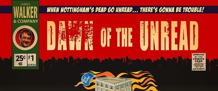 Dawn of the unread book cover
