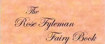 The Rose Fyleman fairy book cover