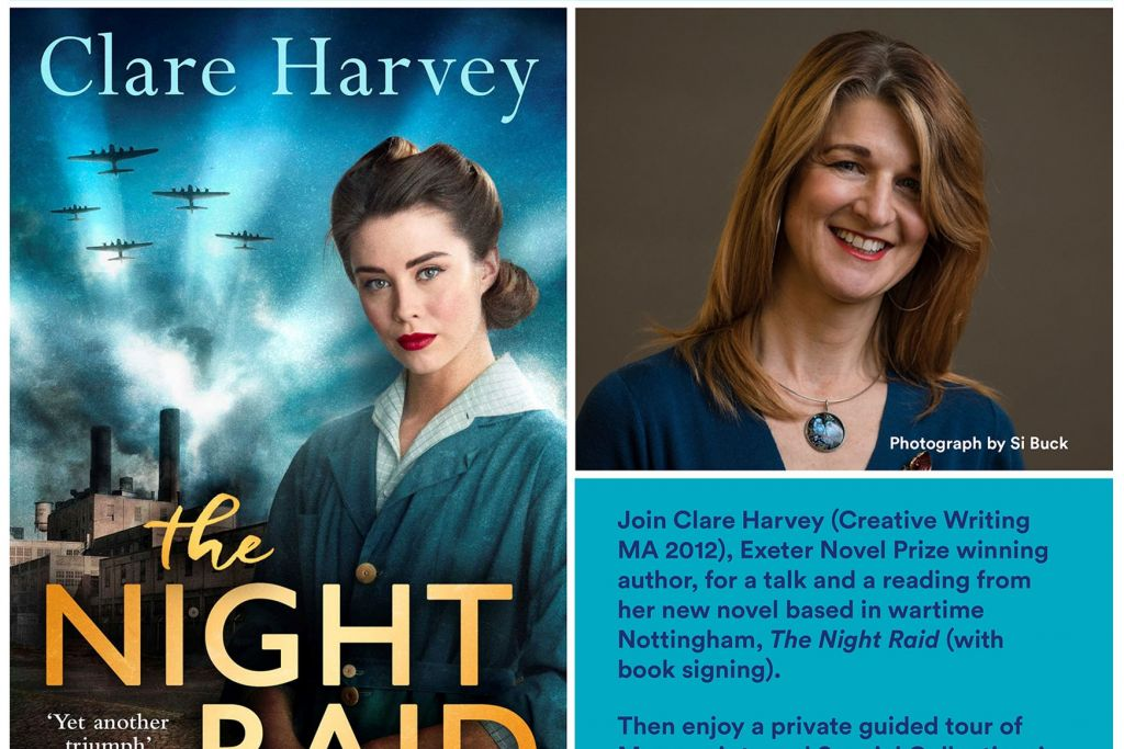 Clare Harvey Flyer