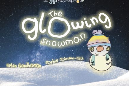 The Glowing Snowman Front Cover 1