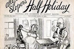 Ally Slopers Half Holiday 2 Avril 1892 Couverture