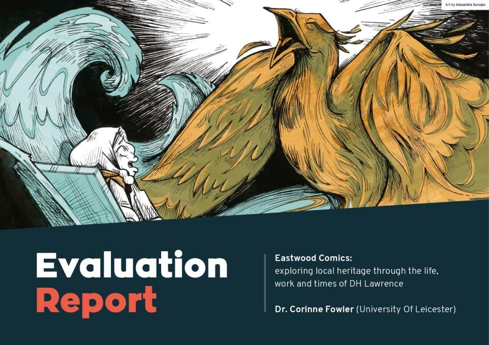 Eastwood Comics Evaluation Report Cover