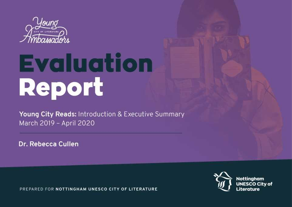 Evaluation Report Cover